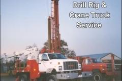 Drill Rig & Crane Truck Service
