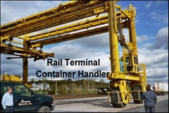 Rail Terminal Container Handler