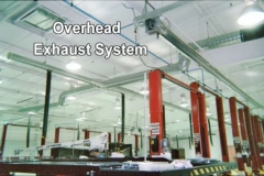 Overhead Exhaust System