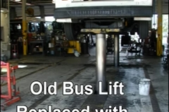 Old Bus Lift - Replaced