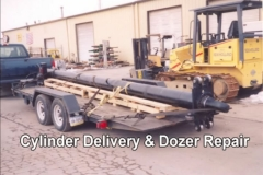 Cylinder Delivery & Dozer Repair