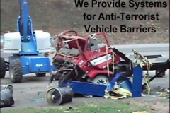 We Provide Systems for Anti-Terrorist Vehicle Barriers