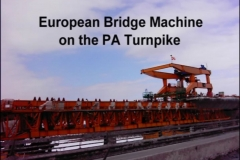 European Bridge Machine on the PA Turnpike