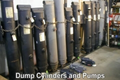Dump Cylinders and Pumps