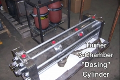 "Turner 3-Chamber ""Dosing"" Cylinder"