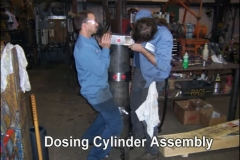 Dosing Cylinder Assembly