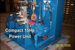 Compact 15hp Power Unit