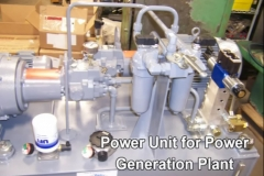 Power Unit for Power Generation Plant