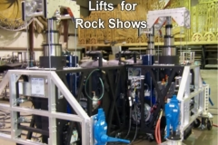 Lifts for Rock Shows