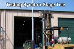 Testing Synchro-Stage Tele