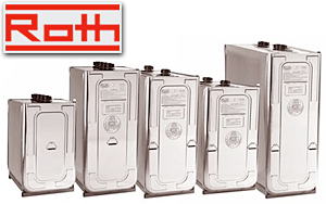 Roth Storage Tanks - Oil storage tanks, Double-Wall tanks, Motor oil tanks